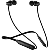 pTron Tangent Lite Magnetic in-Ear Wireless Bluetooth Headphones with Mic - (Black)