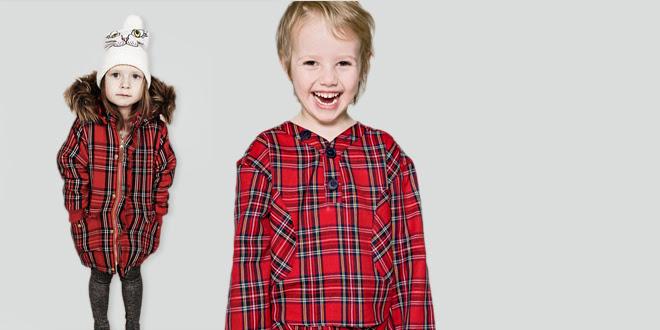 Kid's Winter Fashion Trends: Tartan & Plaid