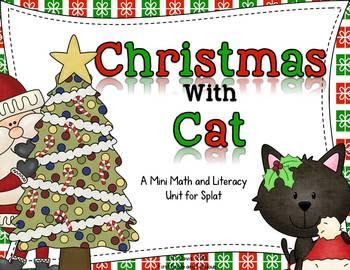 Christmas with a cat-First Grade and Fabulous