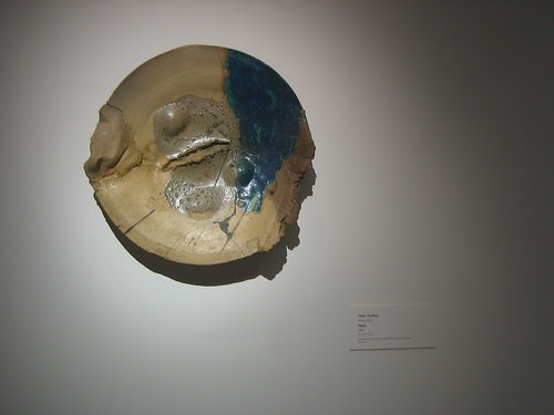 Plate, 1962, Glazed Clay, Peter Voulkos, Oakland Museum of California _ 9525