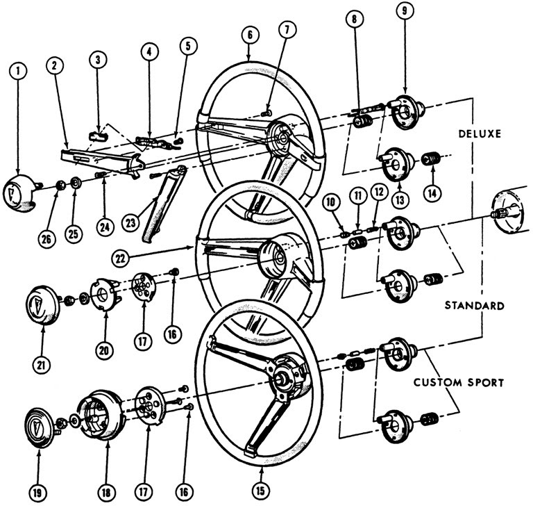 25 1968 chevelle steering column diagram