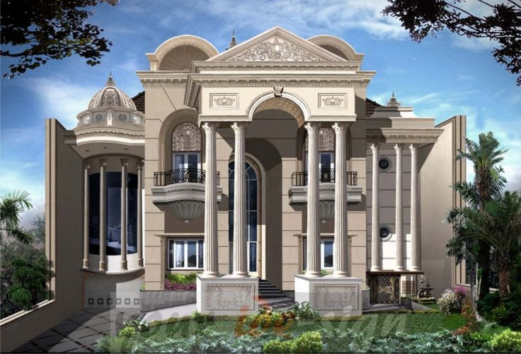 Model Rumah Moderen Klasik  Home design  Pinterest