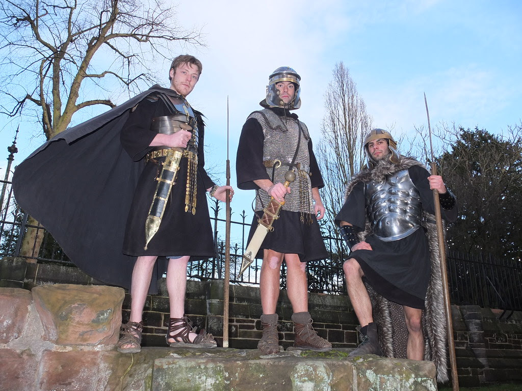 Roman soldier tours - Chester