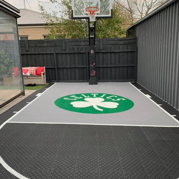 Backyard 3x3 Basketball Court Size - House Backyards