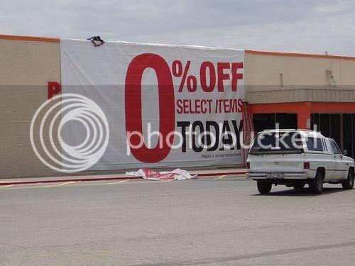 0% off sale