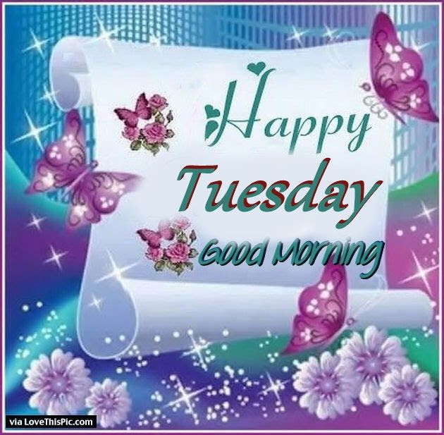 Happy Tuesday Good Morning Pretty Quote Pictures Photos And Images