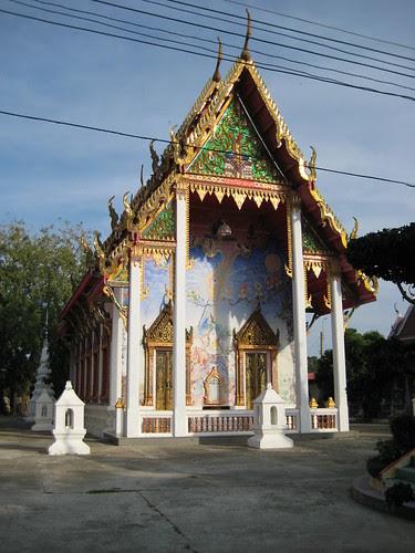 Uposatha, Wat Songphinong, Suphan Buri