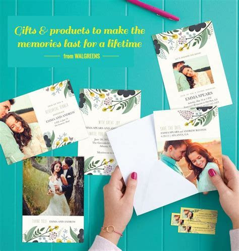 Print Your Own Save the Dates at Walgreens   DIY IDEAS