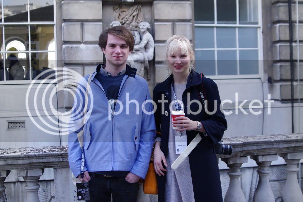London Fashion Week 2012 A/w; Blog Photos; Somerset House