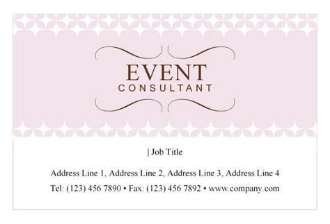 "event planner business card idea   ""land the job"" design"