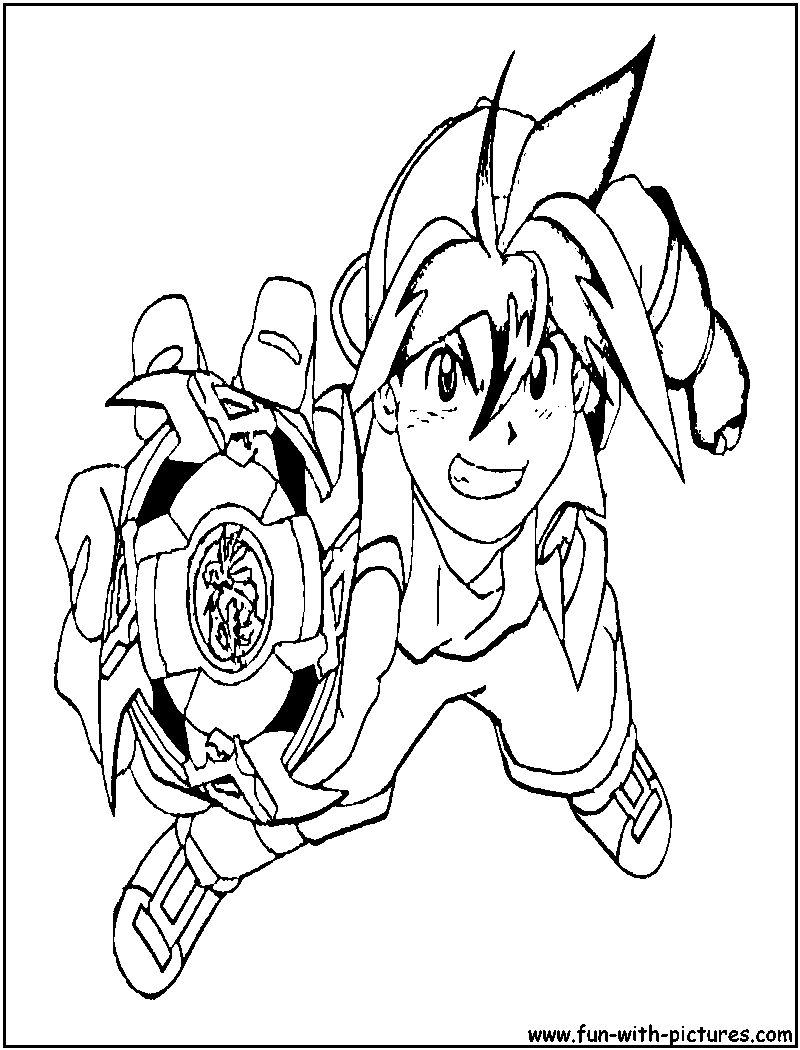 beyblade coloring pages Beyblade Metal Fury Coloring Pages