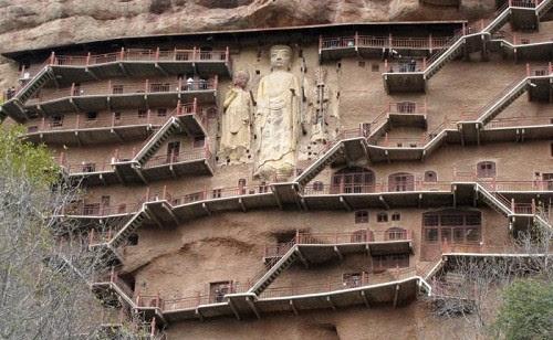 Maytszishan complejo budista