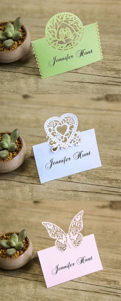 21 Unique Wedding Escort Cards & Place Cards Ideas