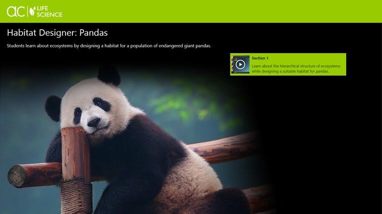 AC Life Science: Habitat Designer: Pandas snímek obrazovky 0