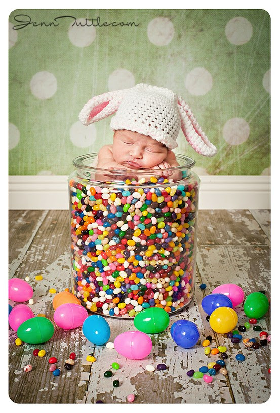 12 Baby Easter Photography Images Newborn Baby Easter Picture