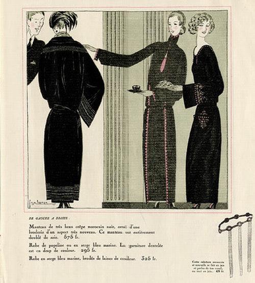 Georges Lepape, Les Modes Elegantes, 1922