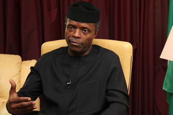 Osinbajo speaks on Magu, reveals states topping federal appointments
