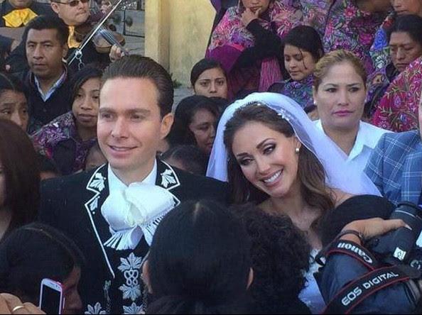 Anahí e Manuel Velasco (Foto: Reprodução/Instagram)