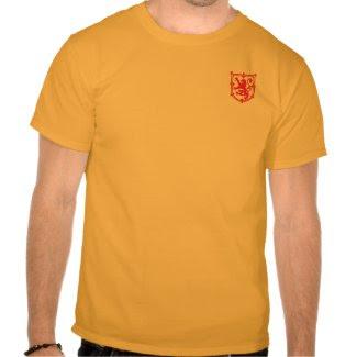 Scotland Lion Shirt shirt