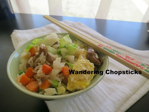 Com Chien Ca Man (Vietnamese  Chinese Salty Fish Fried Rice) 2