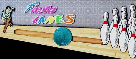 Bowling Ball Spinner Card