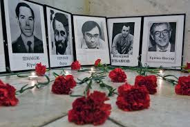 MURDERED RUSSIAN JOURNALISTS