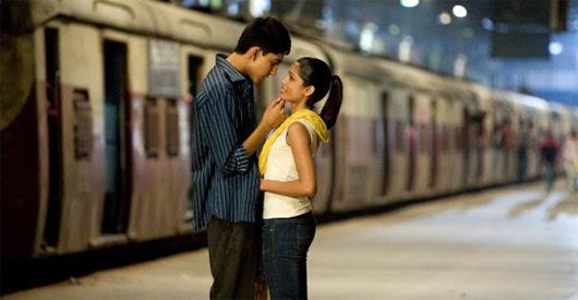 Dev Patel y Freida Pinto en 'Slumdog Millionaire'
