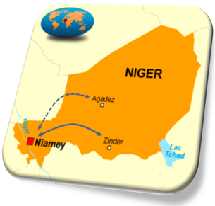 Equaflight/Air Niamey's planned flights