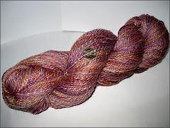 Lisbon Merino-silk handspun
