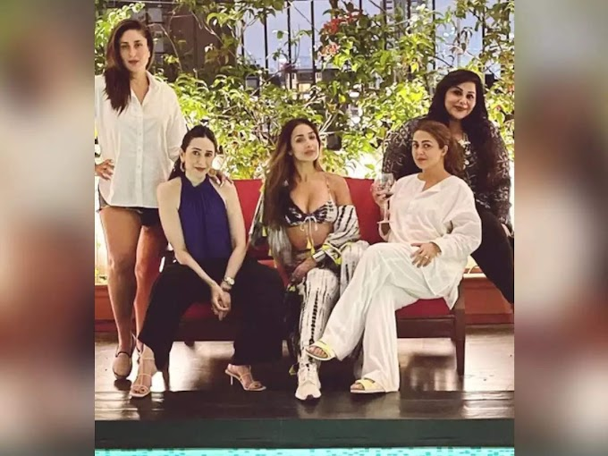 Bebo posts a glamorous pic with her BFFs