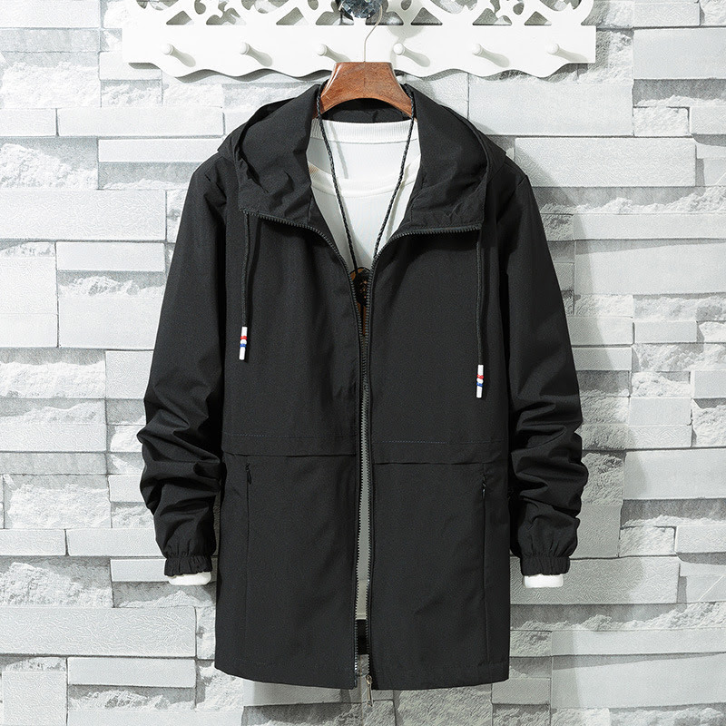 Mens Jackets and Coats 2019 New Large Size Men's Jacket Youth Student Men's Jacket Trend Cardigan Men Clothes