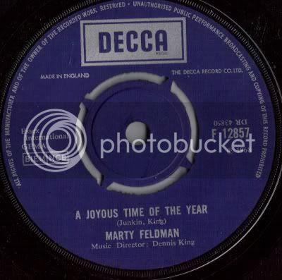 Marty Feldman - A Joyous Time Of The Year