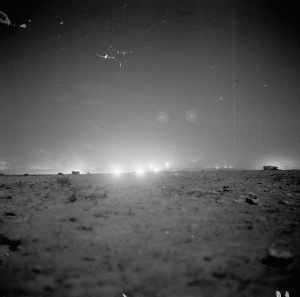 File:El Alamein barrage general view.jpg