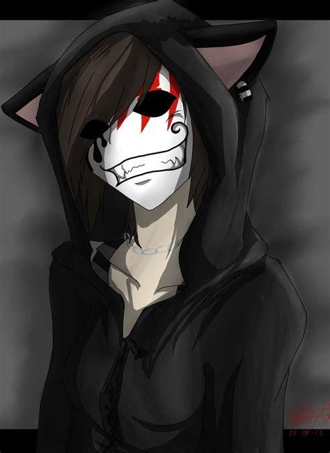 scary cat  hollow masktokyomask otaku anime picture