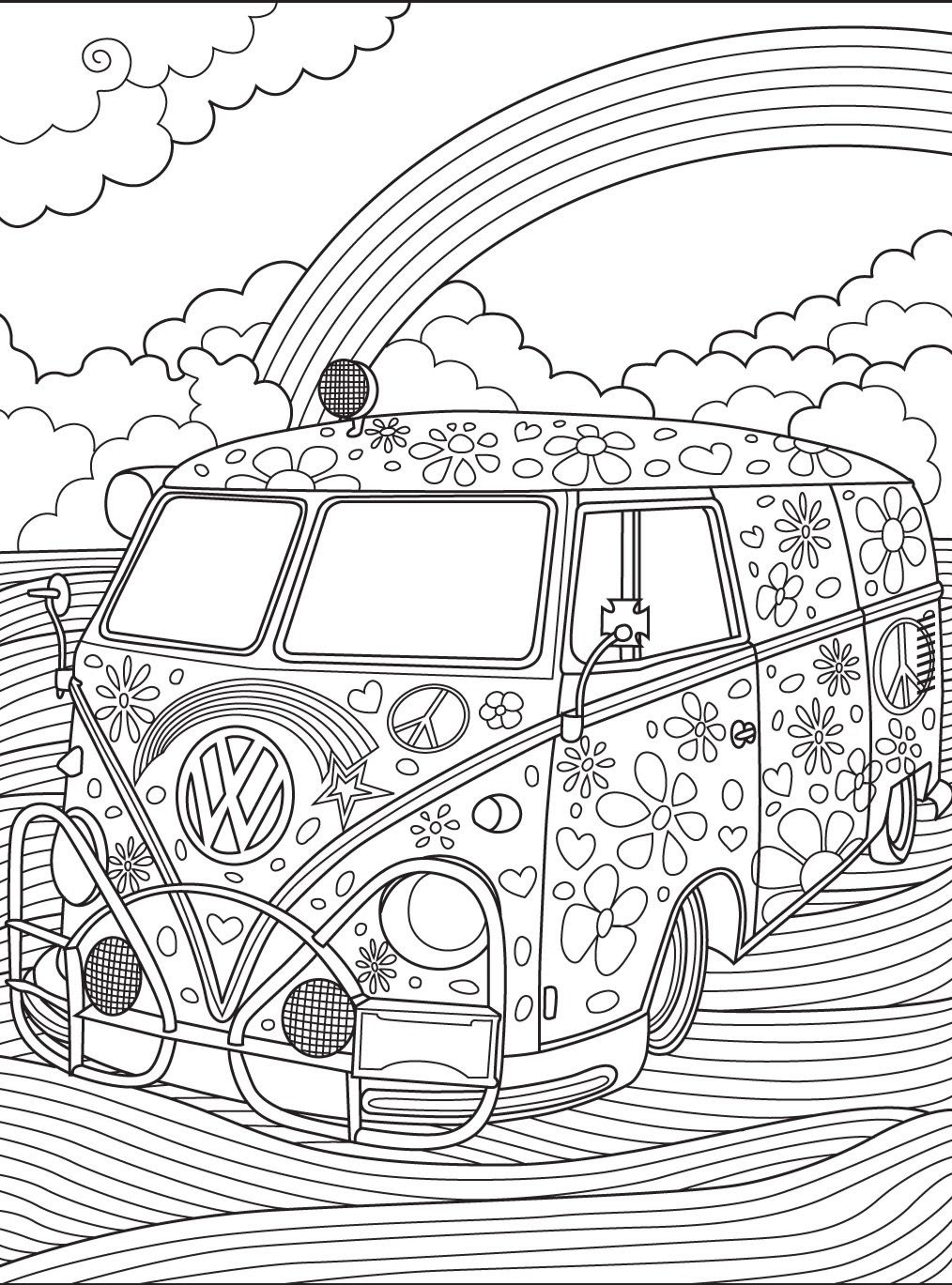 Adult Coloring Pages Cars at GetDrawings | Free download
