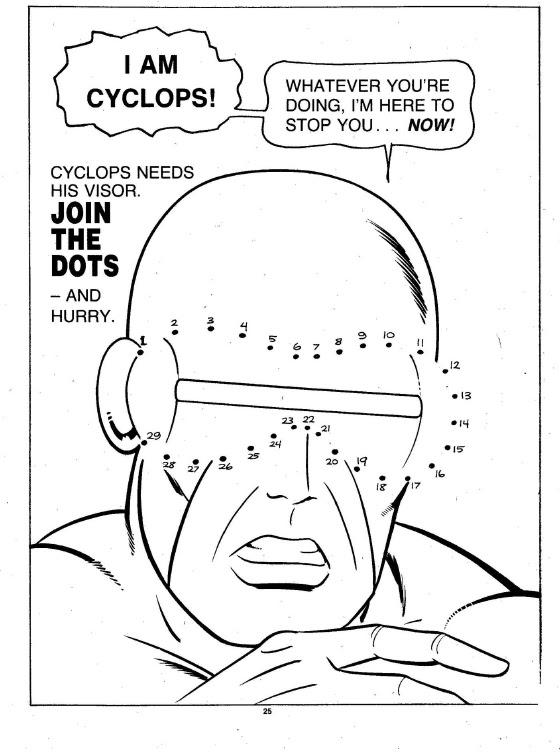 X-Men Super Activity Book00026