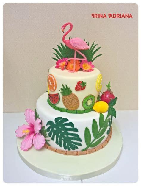 Tropical Cake   cake by Irina Adriana   CakesDecor