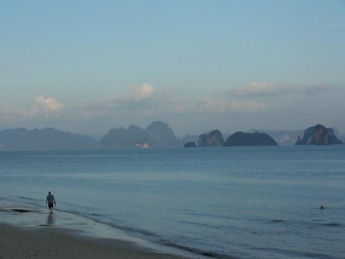 Jim on Ko Yao Noi beach