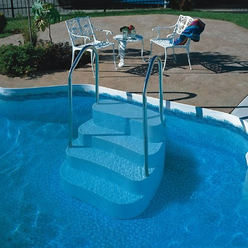 Blue Wave Lumi O Oasis In Ground Pool Step Handrail