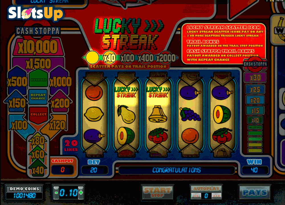 Hearts go for the progressive jackpot playing streak of luck slots easy winning igre]