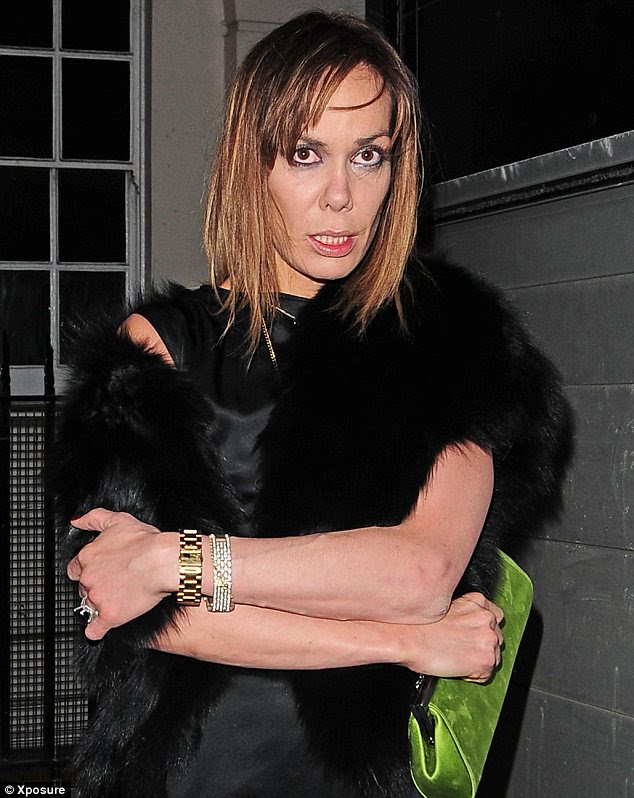 Tara Palmer Tomkinson Looks Worse For Wear As She Leaves
