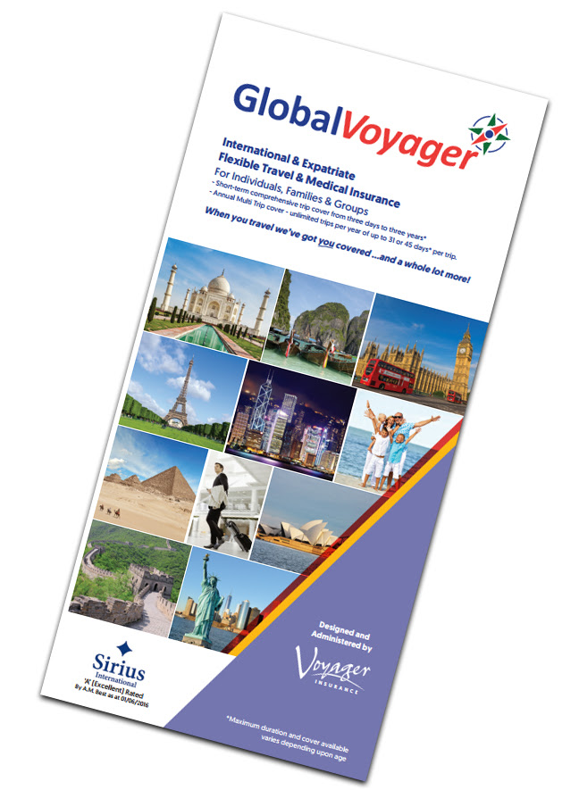 Voyager Insurance - corporate website