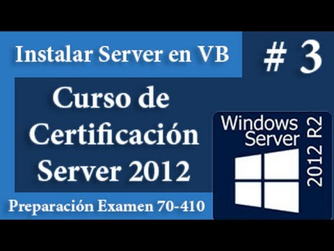 Instalar Windows Server 2012 en Virtua Box