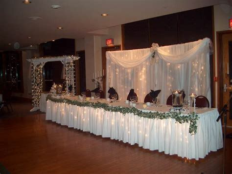 LaCoste & Ling Wedding: Wedding Projects #6: Head Table