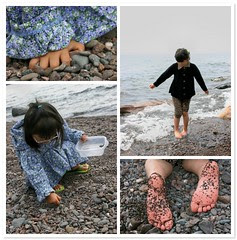 A Day at the Beach - Cut Face Creek in Grand Marais
