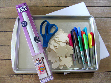 letter crafts for kids