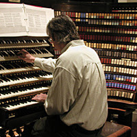 Peter Conte, official organist of the Monarch of Instruments