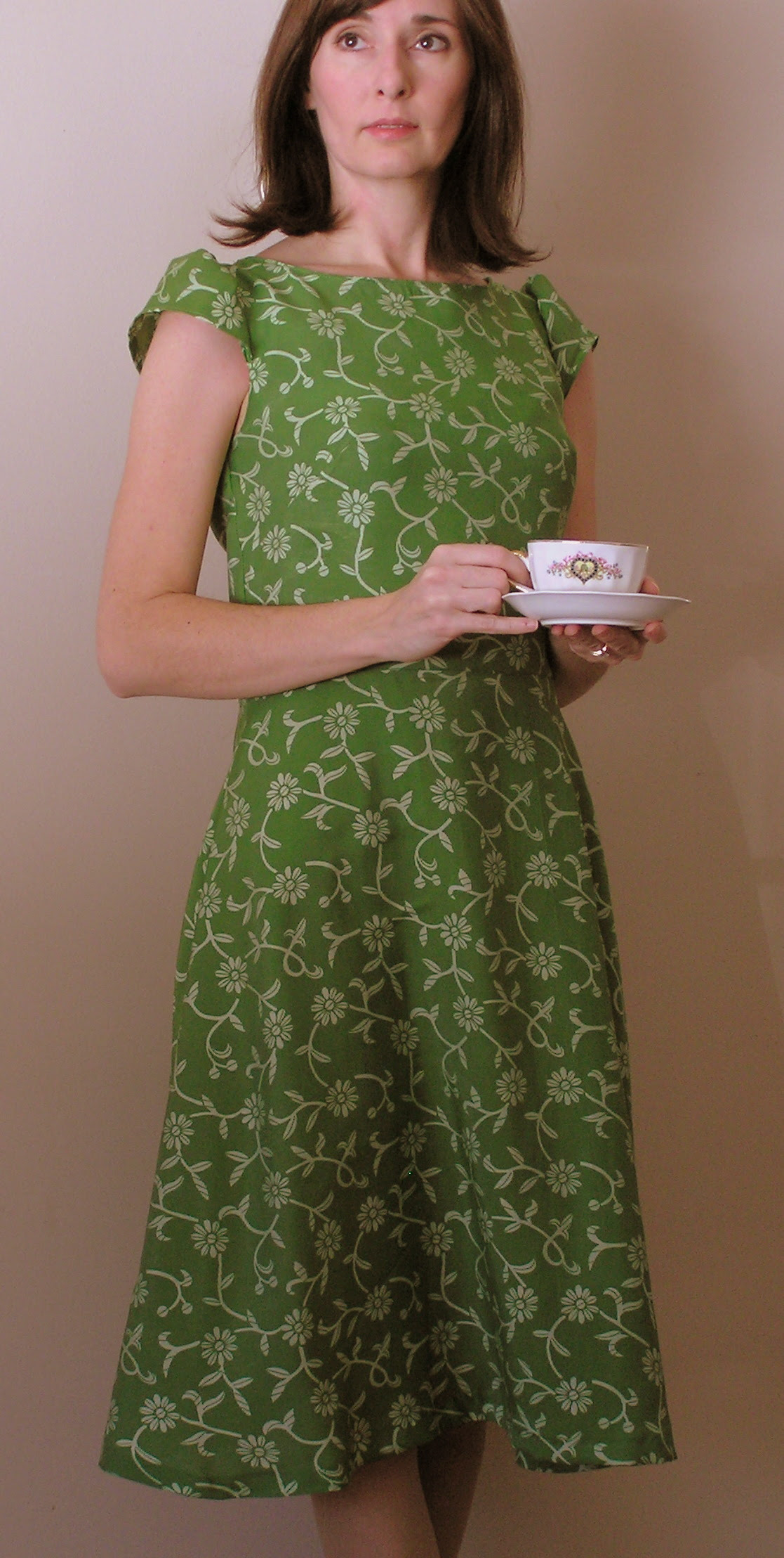 afternoon tea dress – sewing projects  burdastyle