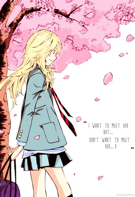 Your Lie In April Quotes Tumblr