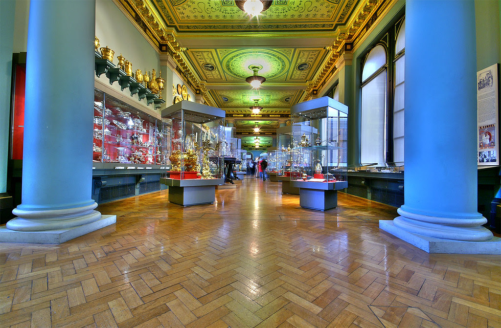Victoria and Albert Museum - Silver Gallery